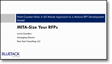 MITA-Size Your RFPs