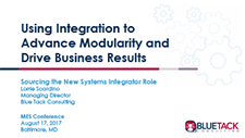Using Integration to Advance Modularity and Drive Business Results